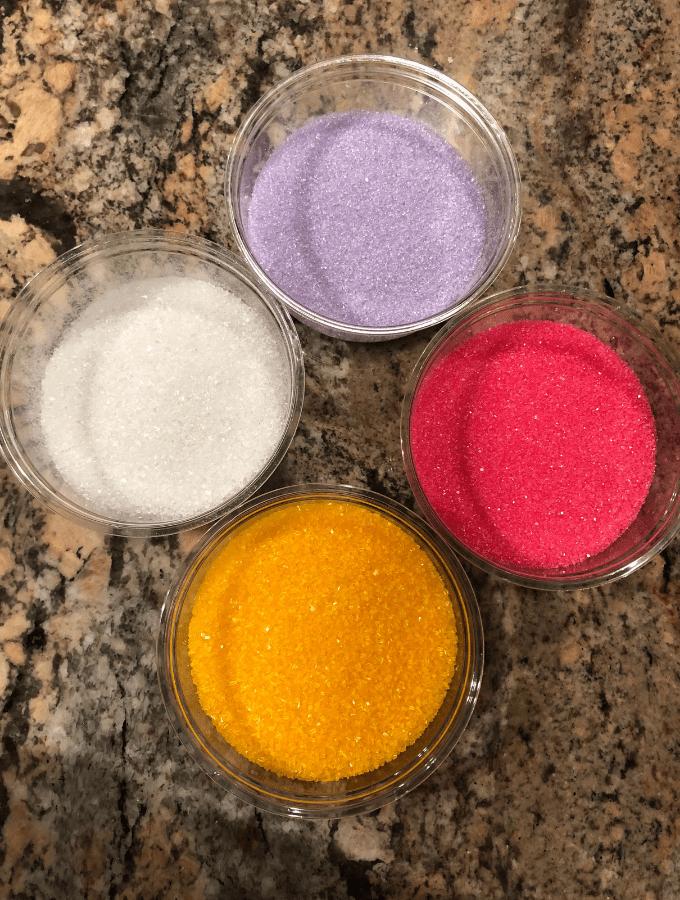 Scomuffie Colored Sugar