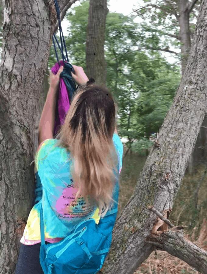 Hanging Your Hammock