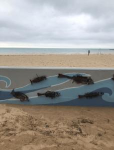 Maniste First Street Beach Artwork