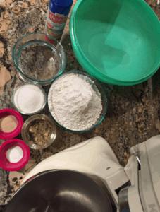 Dinner Roll Ingredients