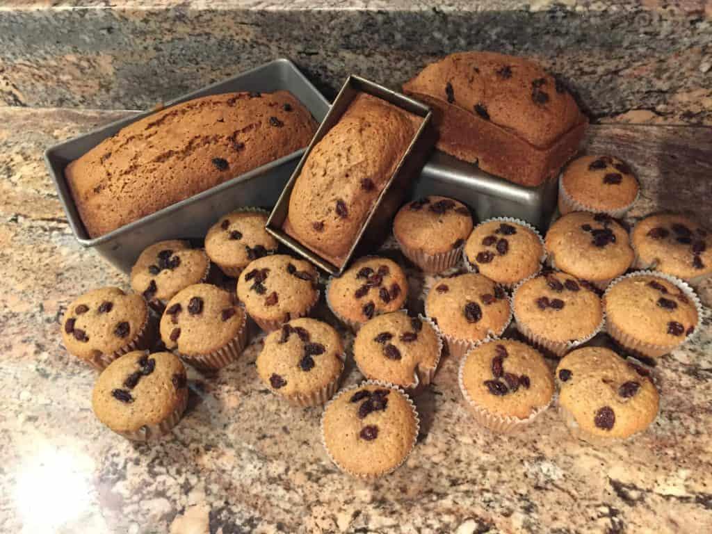 Zucchini Muffins/Bread