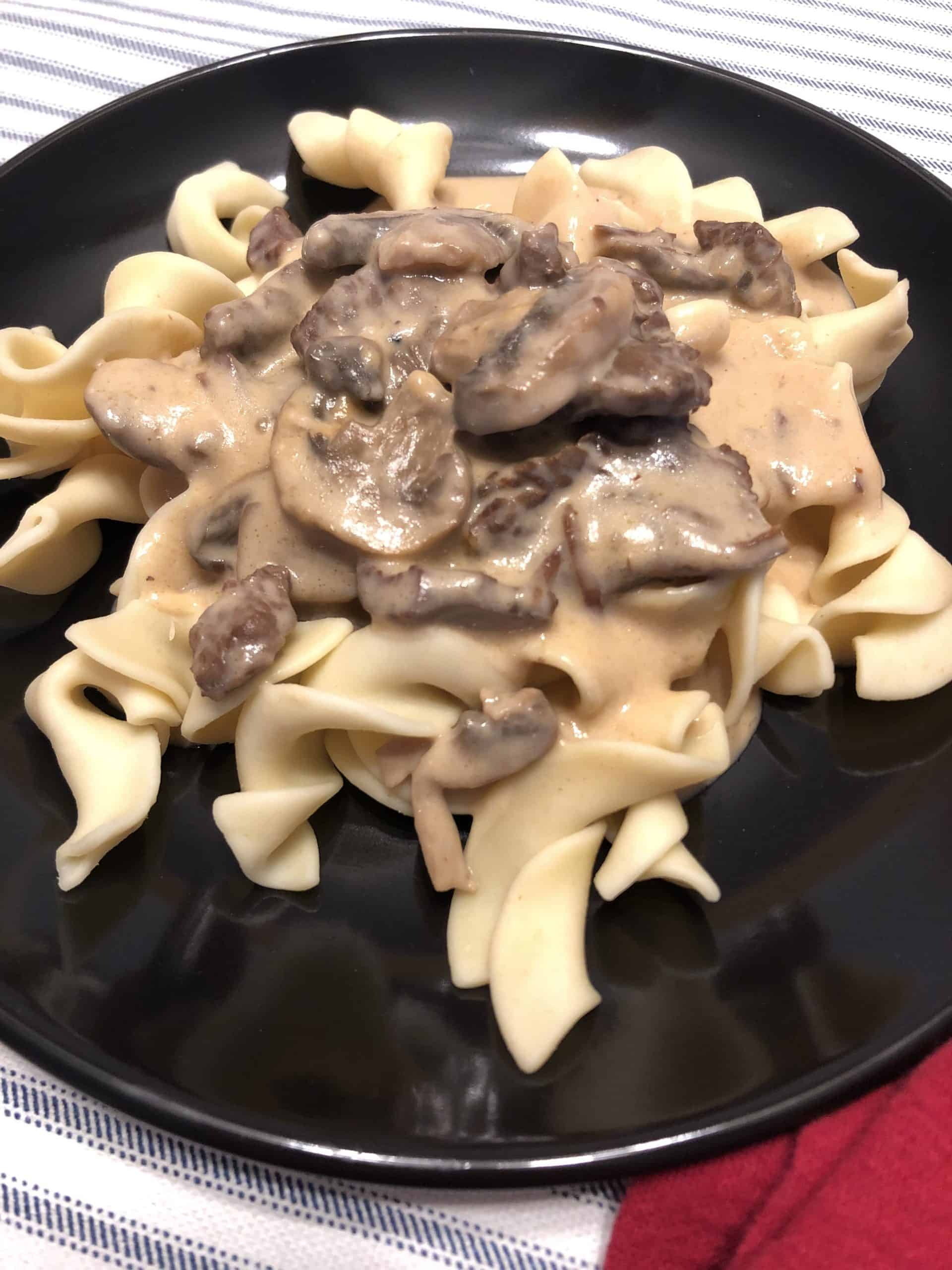 Instant Pot Beef Tips and Noodles