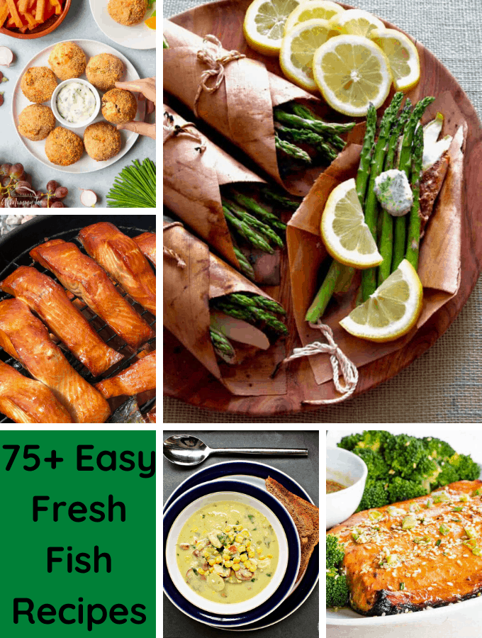 75+ Easy Fresh Fish Recipes