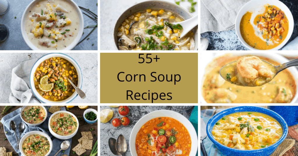 55+ Corn Soup Recipes