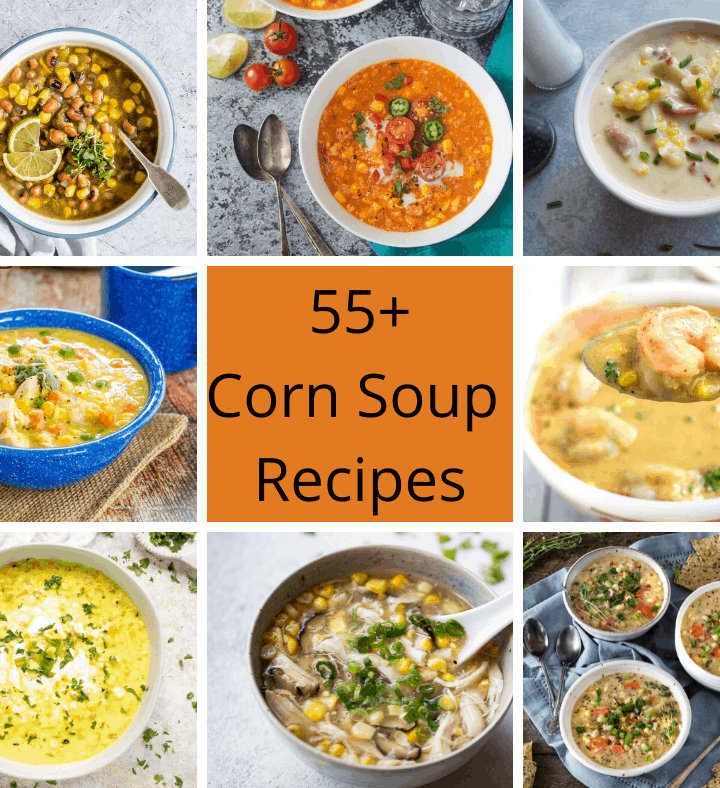 55+ Corn Soup Recipes