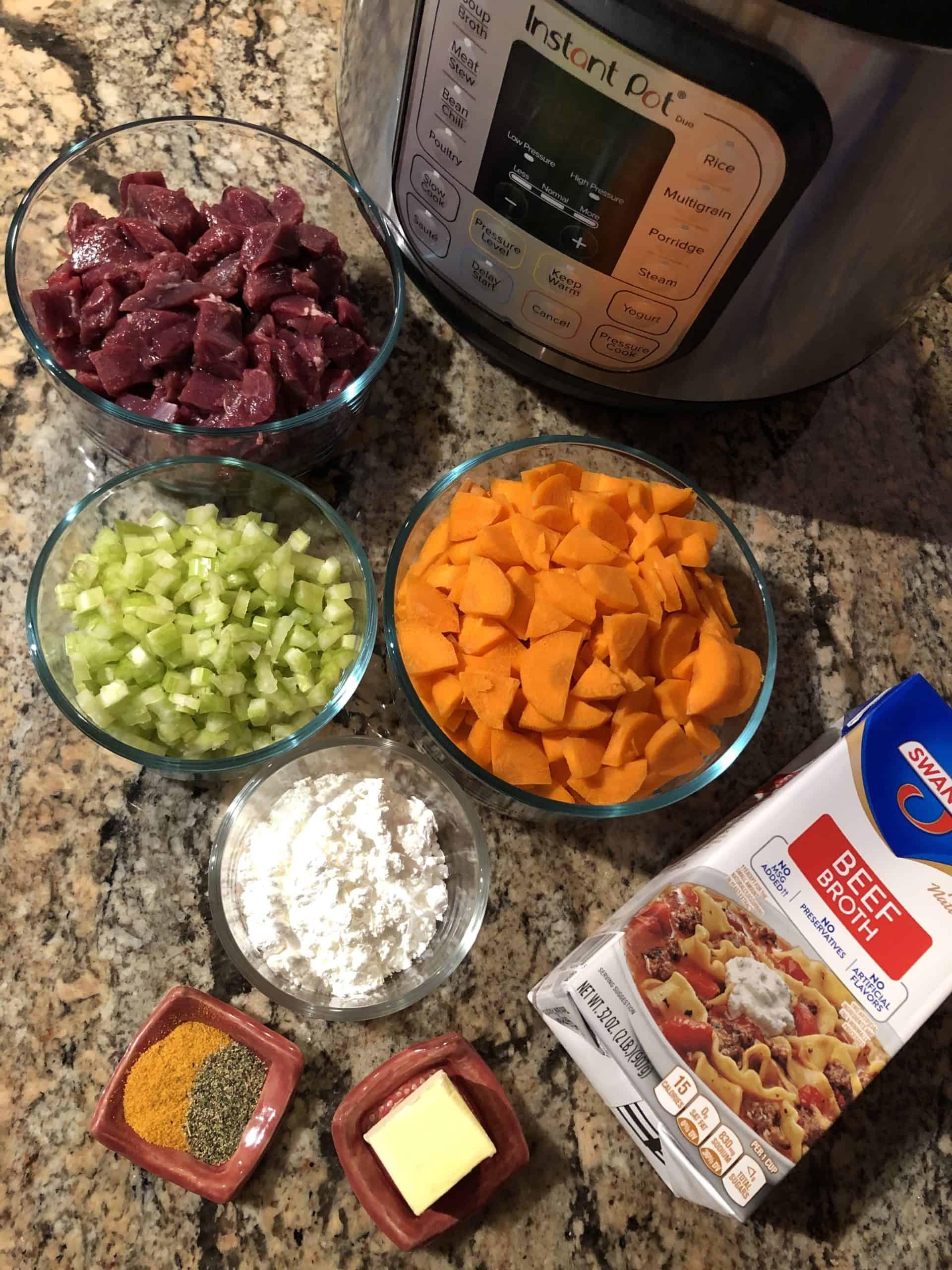 Stew Ingredients
