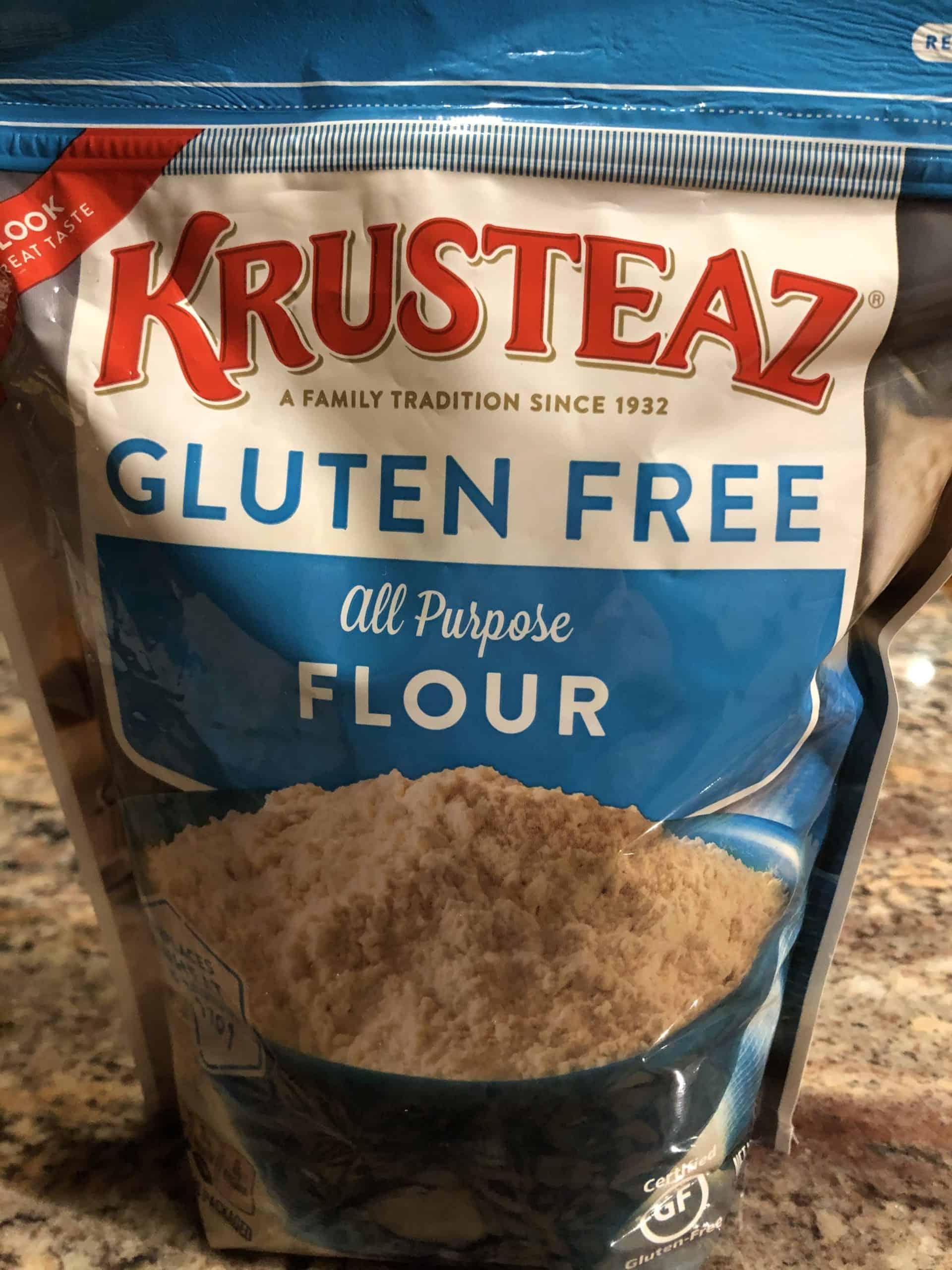 Bag of gluten free flour