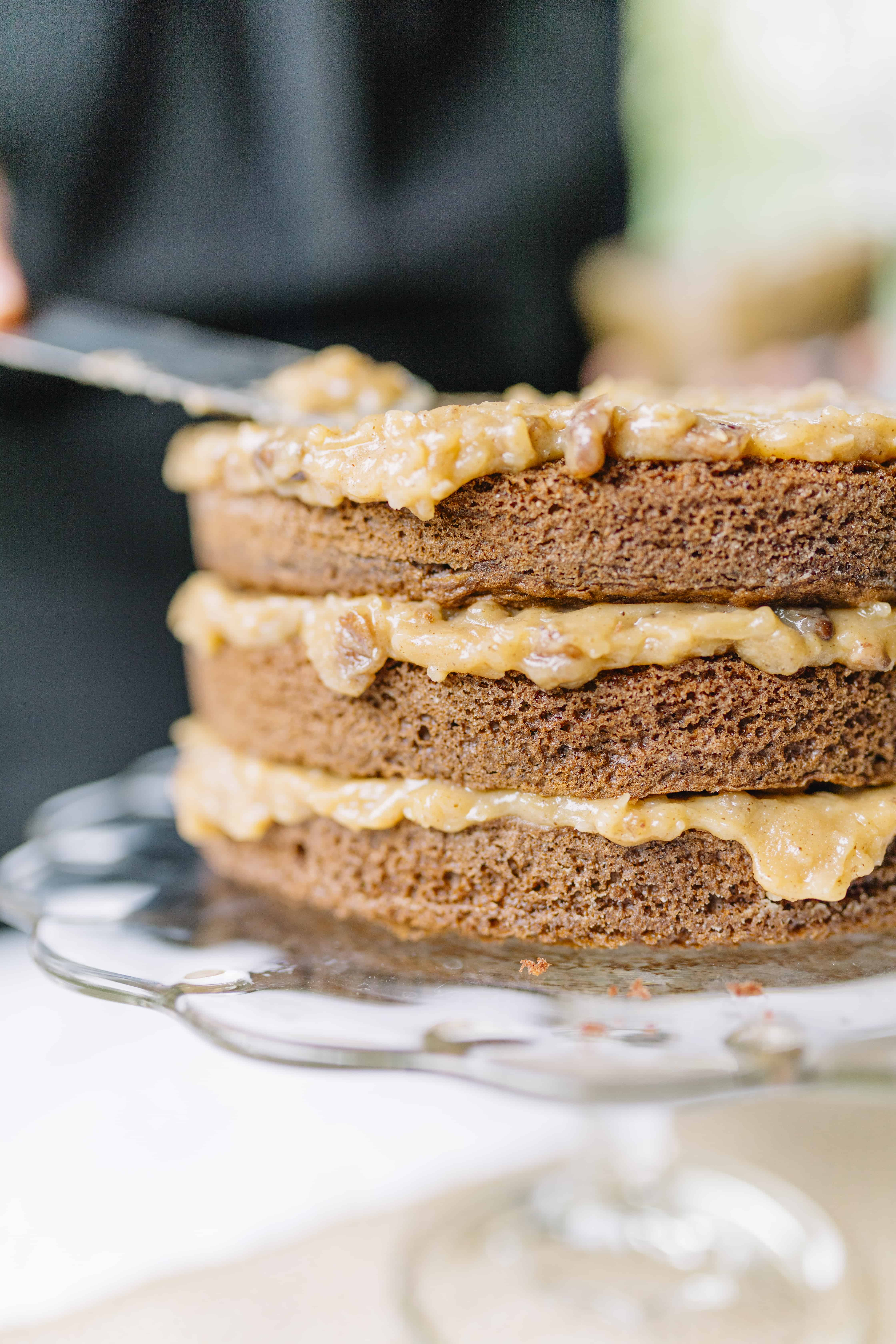 3 layer German Chocolate Cake