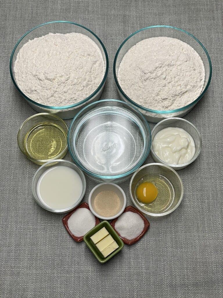 Naan Bread Ingredients