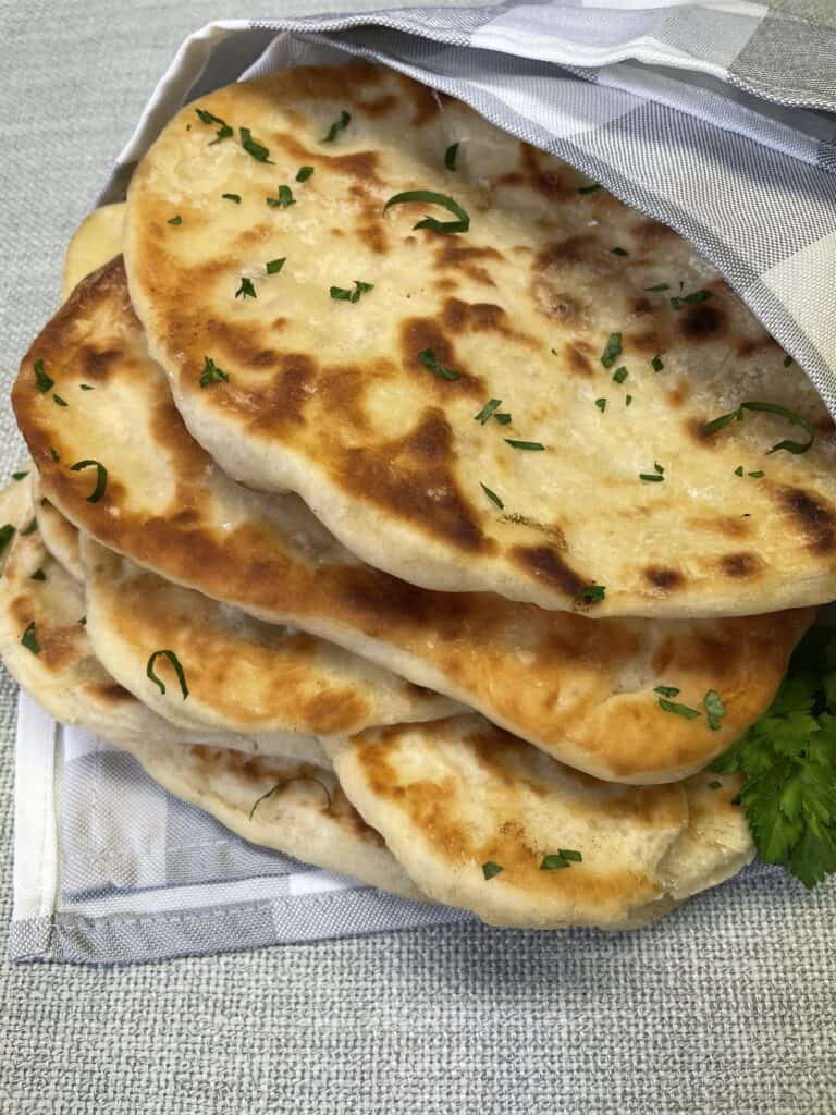 Naan Bread Stack