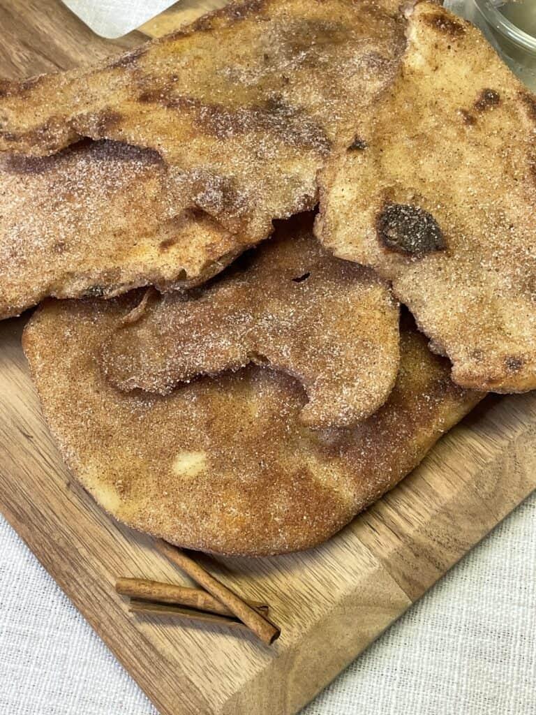 Cinnamon Sugar Naan Bread