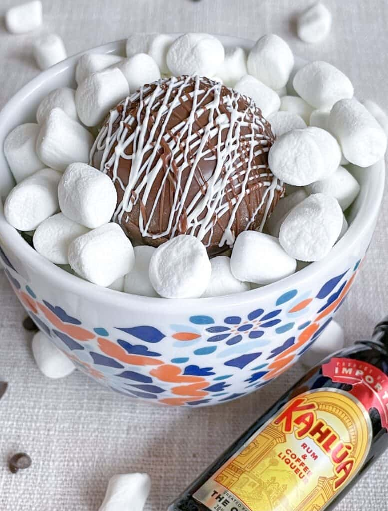 Kahlua Hot Chocolate Bomb