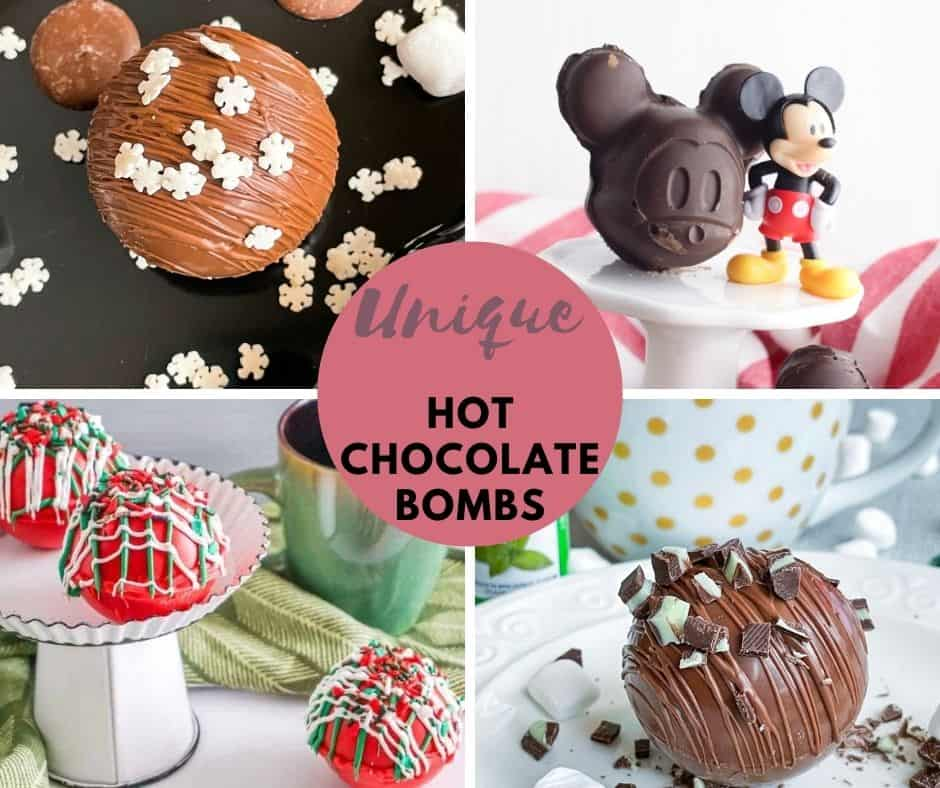 20+ Unique Hot Chocolate Bombs