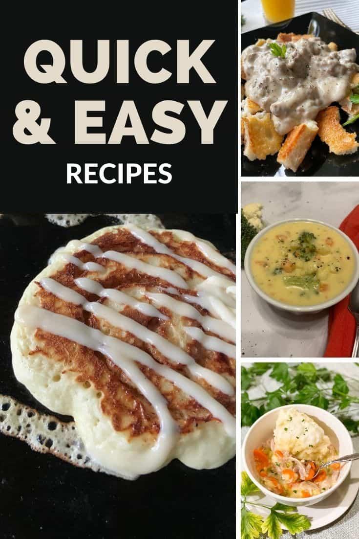 Quick & Easy Free Recipes