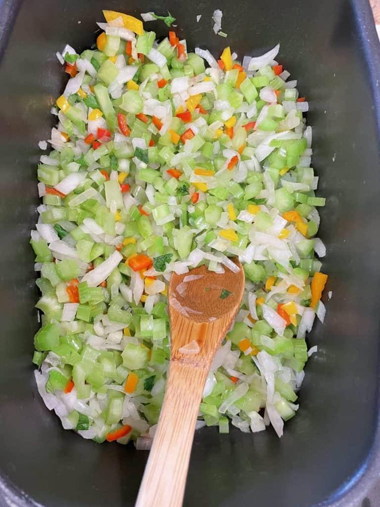 Sautéed Onion, Celery & Peppers