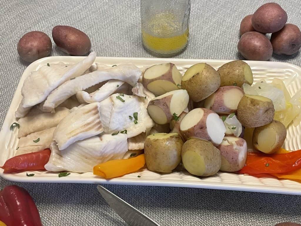 Boiled Potatoes and Pike