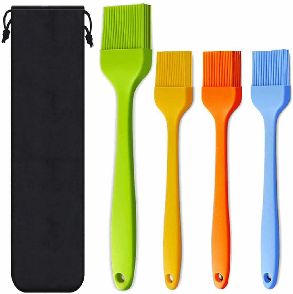 Silicone Basting Pastry Brushes