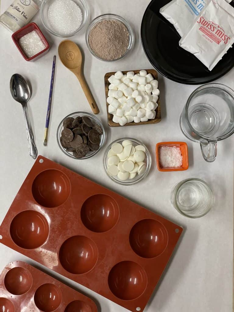 Hot Chocolate Bombs Ingredients