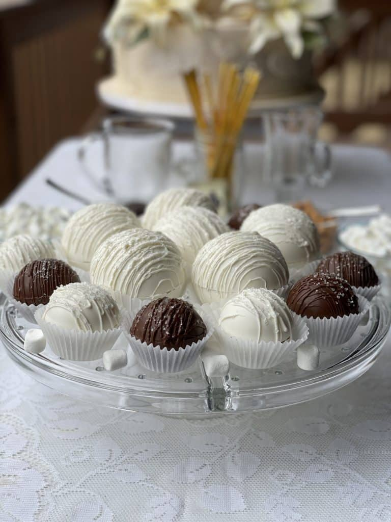 Wedding Hot Chocolate Bombs Bar