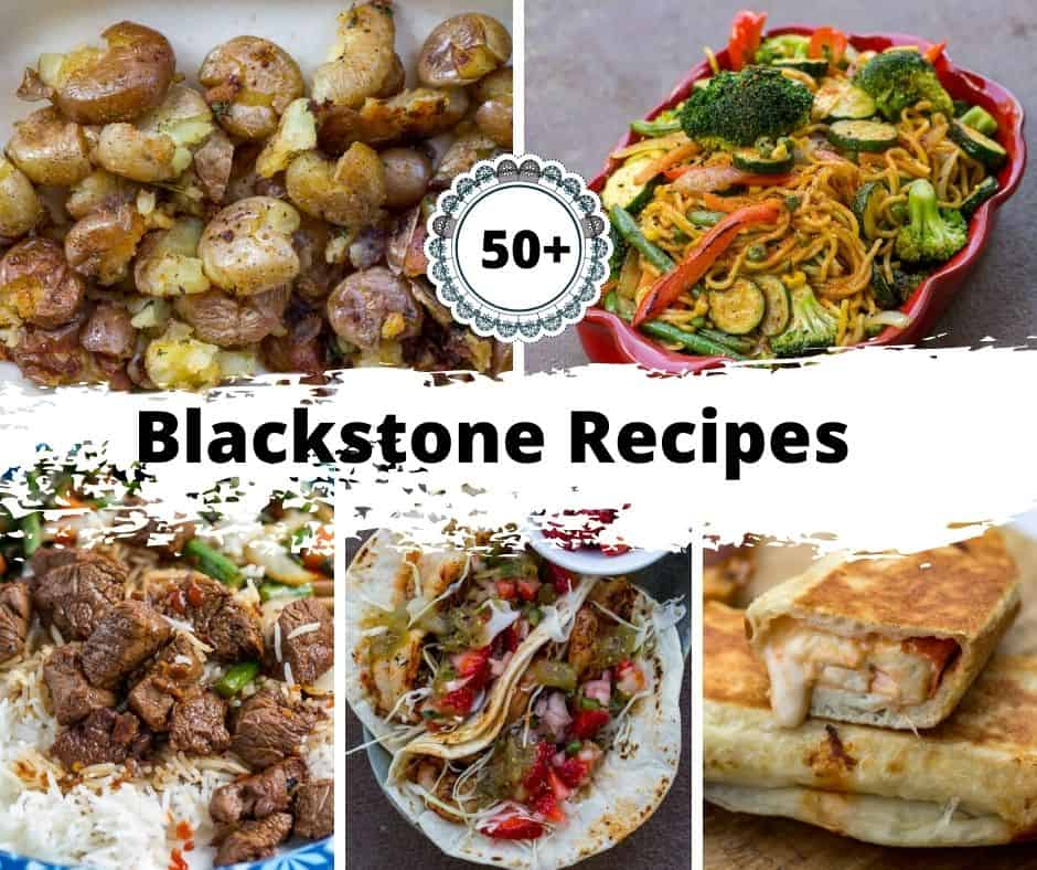 A collection of Blackstone Griddle Recipes.