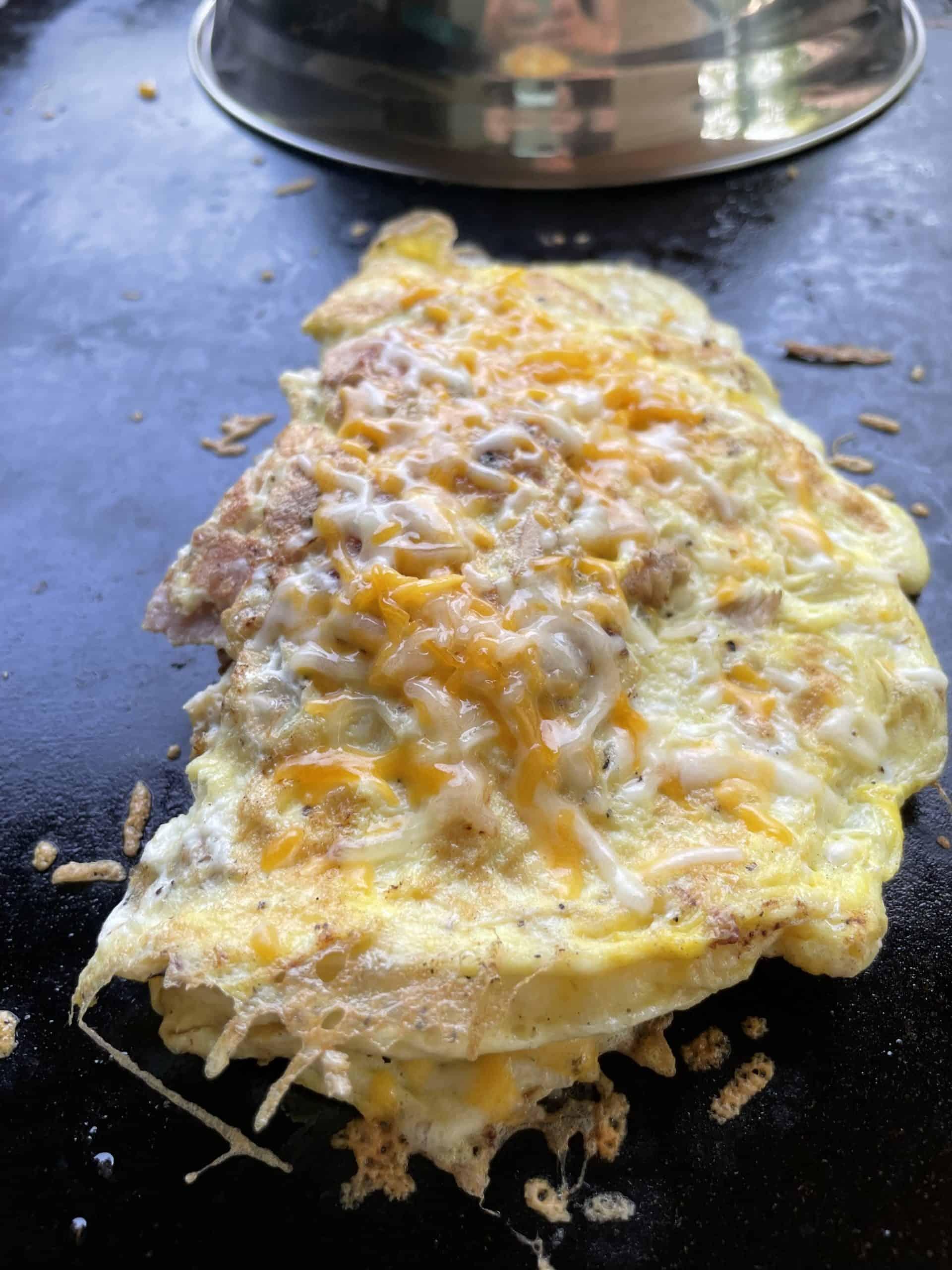 Blackstone Griddle Omelette