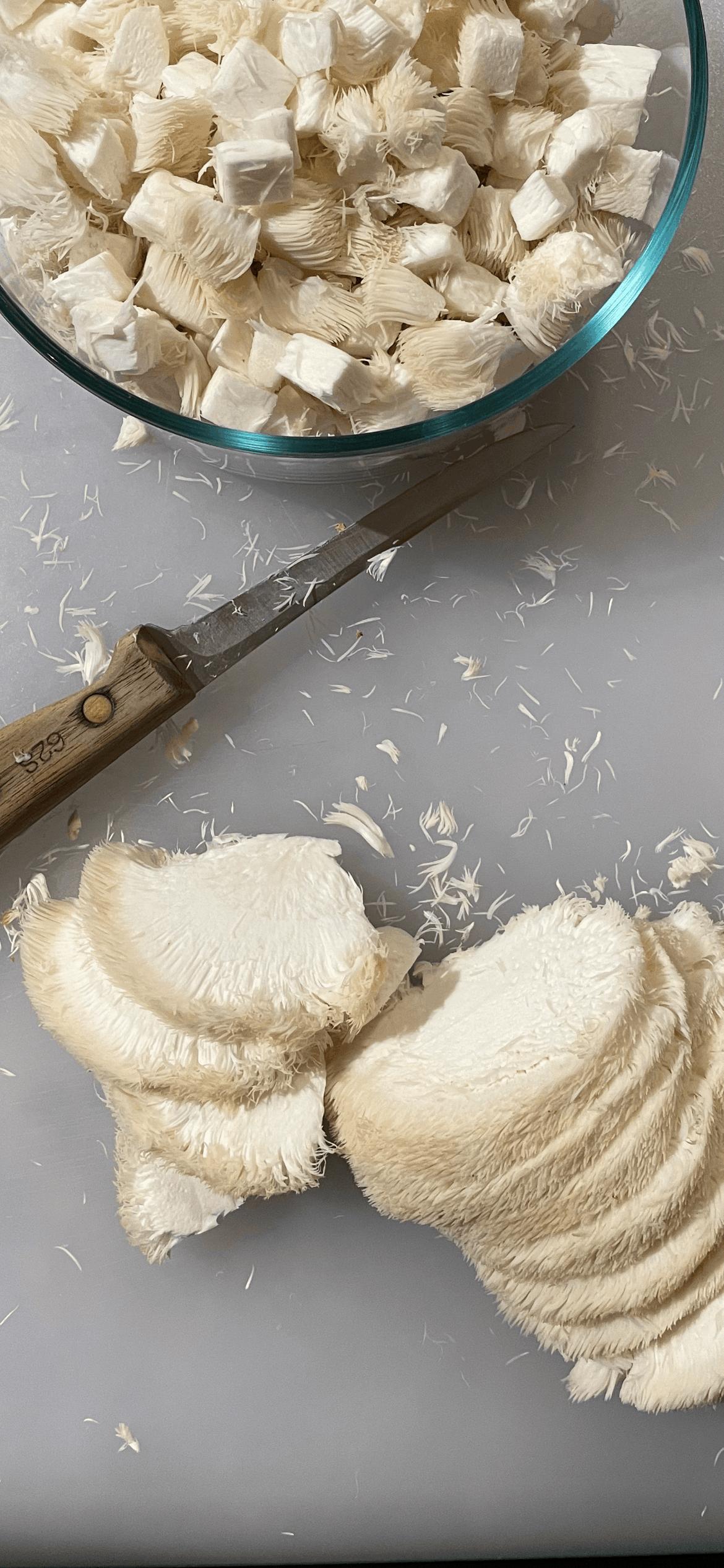 Slicing Your Mushrooms
