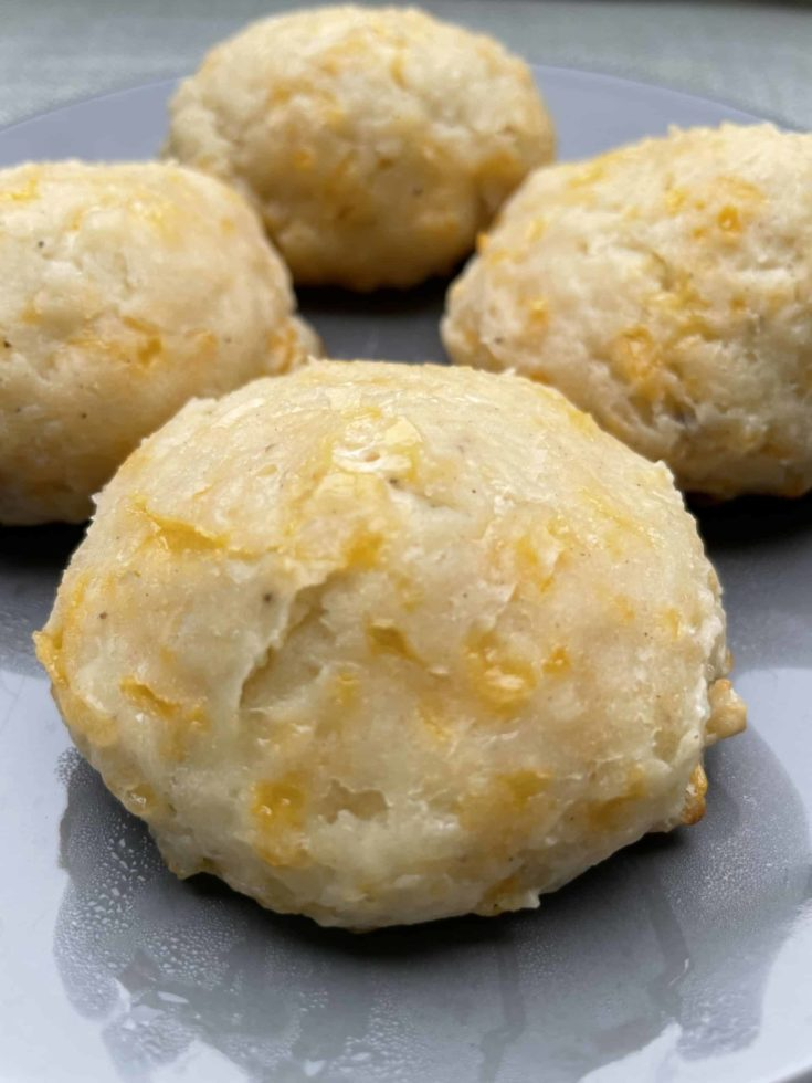 Griddle Cheddar Biscuits