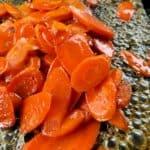 Glazed Carrots Recipe on a Blackstone Griddle