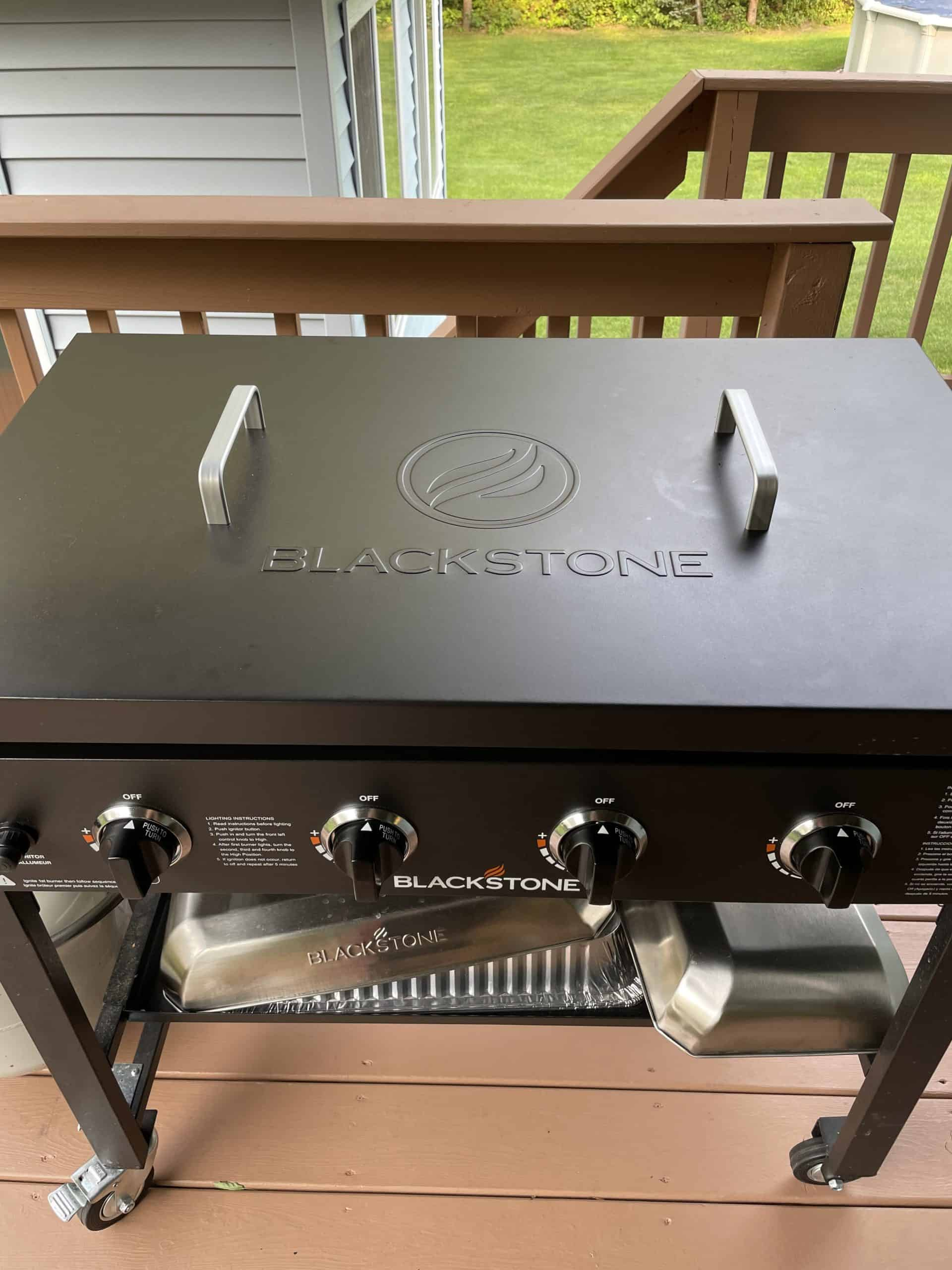 Hard Cover for a Blackstone Griddle.
