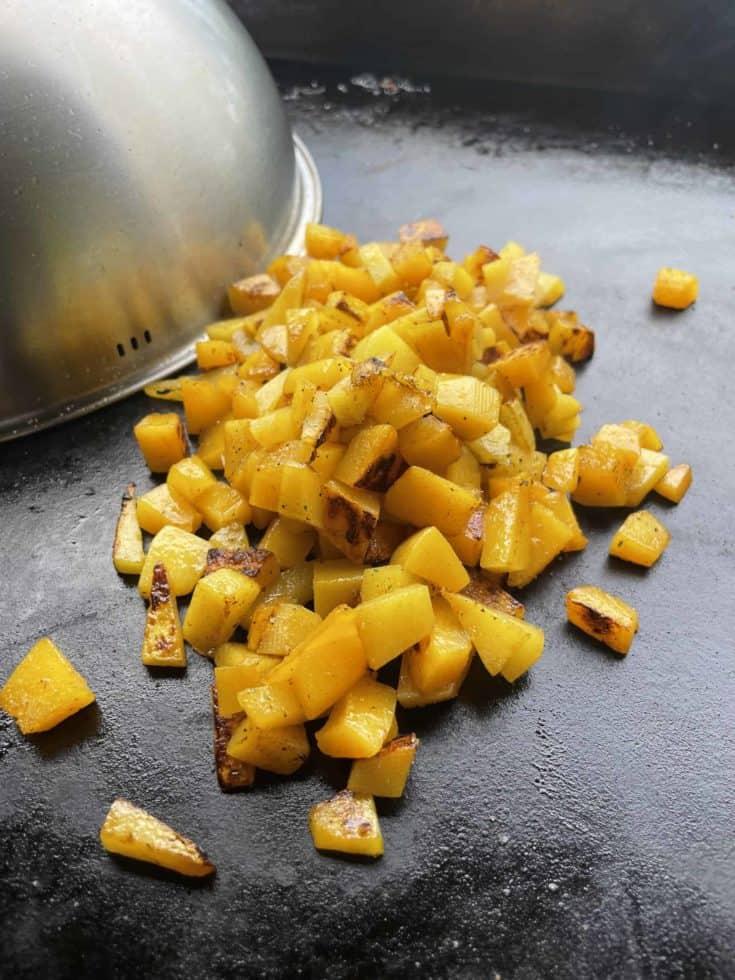 Griddle Roasted Butternut Squash